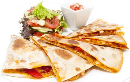 Quesadillas - isst du aus Langeweile?